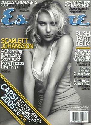 Cover for the February 2005 issue