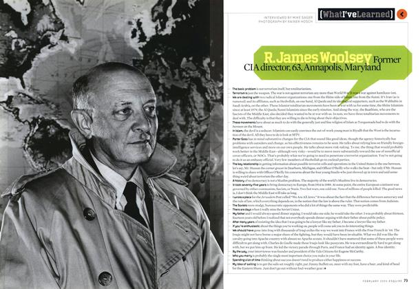 Article Preview: R. James Woolsey, February 2005 2005   Esquire