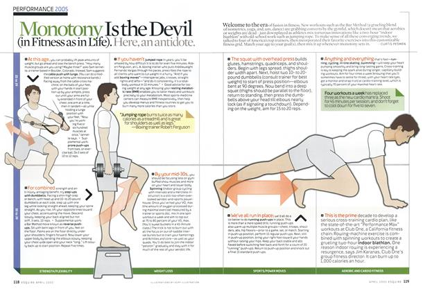 Monotony Is the Devil