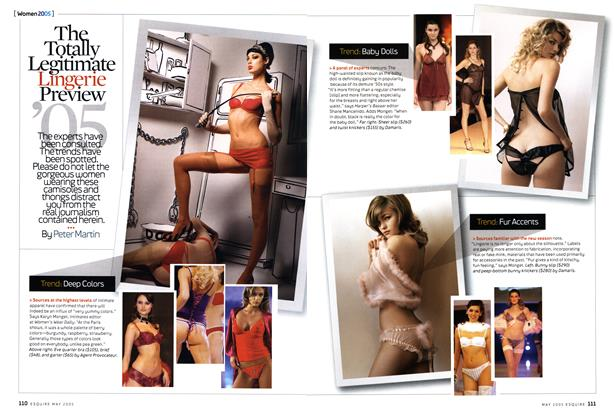 The Totally Legitimate Lingerie Preview '05
