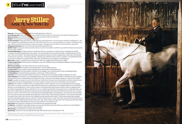Article Preview: Jerry Stiller, May 2005 2005 | Esquire