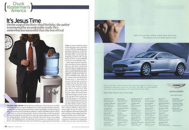 Article Preview: It's Jesus Time, June 2005   Esquire