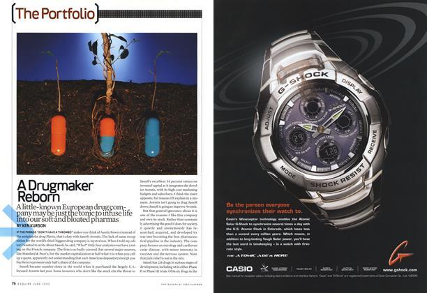 Article Preview: A Drugmaker Reborn, June 2005 2005 | Esquire