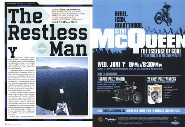 Article Preview: Sailing a Marine Wilderness, June 2005 | Esquire