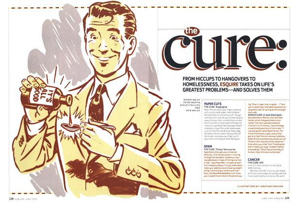 Article Preview: The Cure, June 2005 | Esquire