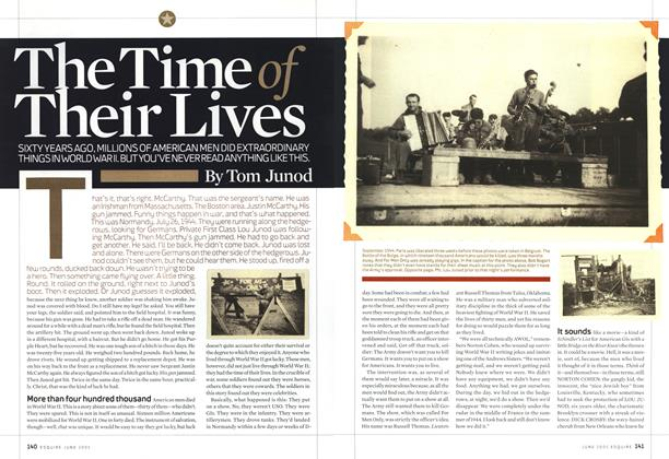 Article Preview: The Time of Their Lives, June 2005 2005 | Esquire