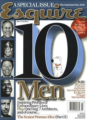 Cover for the July 2005 issue