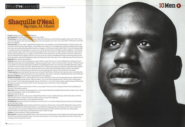 Article Preview: Shaquille O'Neal, July 2005 | Esquire