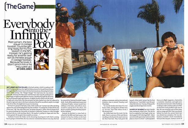Article Preview: Everybody into the Infinity Pool, September 2005 | Esquire