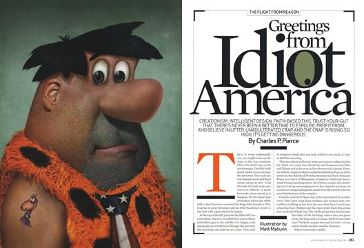 Greetings from Idiot America - November | Esquire