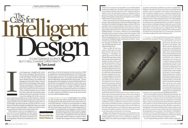 Article Preview: The Case for Intelligent Design, November 2005 | Esquire