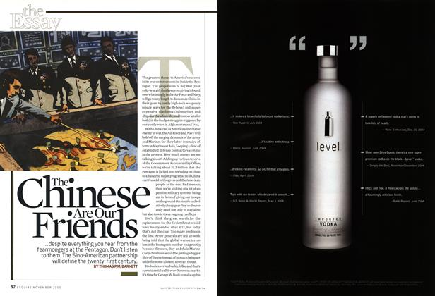 Article Preview: The Chinese Are Our Friends, November 2005 | Esquire