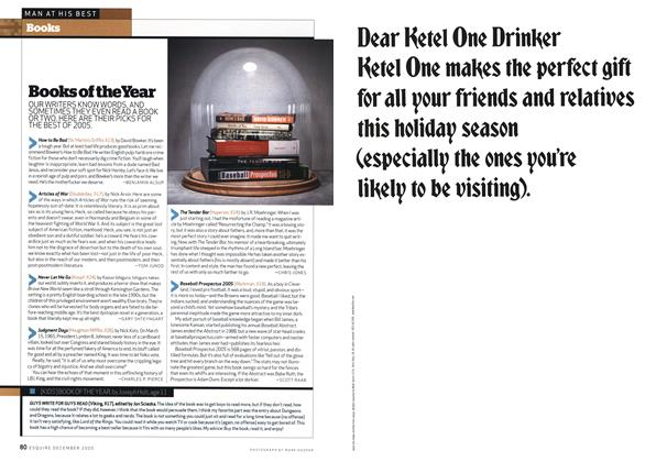 Article Preview: Books of the Year, December 2005   Esquire