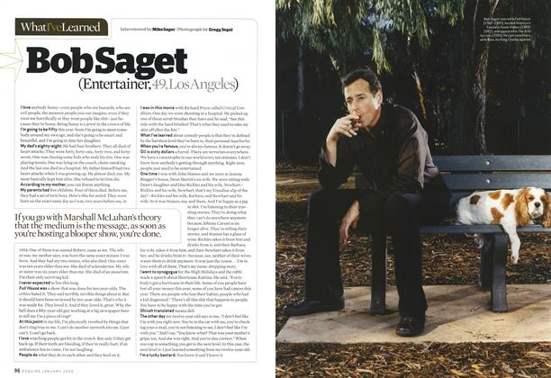 Article Preview: Bob Saget, JANUARY 2006 2006 | Esquire