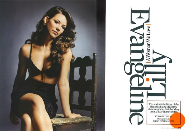 Article Preview: Evangeline Lilly, MARCH 2006 2006 | Esquire