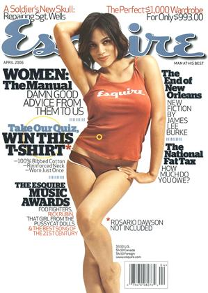 Cover for the April 2006 issue