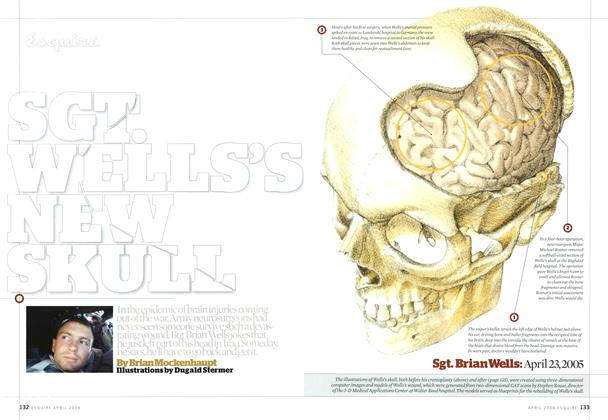 Article Preview: Sgt. Wells's New Skull, April 2006 | Esquire