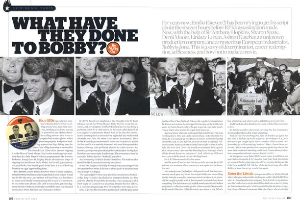 Article Preview: What Have They Done to Bobby?, May 2006 | Esquire