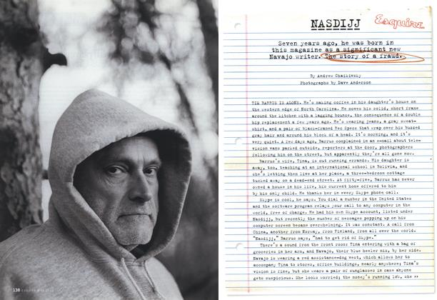 Article Preview: Nasdijj, May 2006 | Esquire