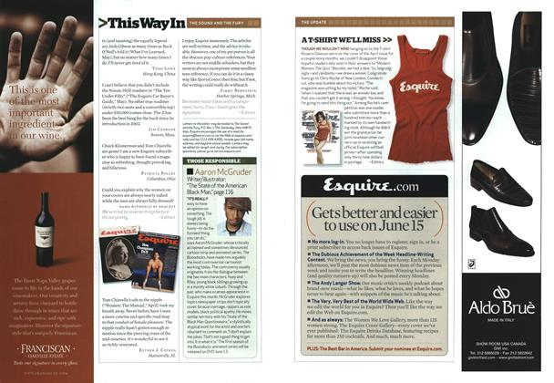 Article Preview: Those Responsible, JULY 2006 2006 | Esquire