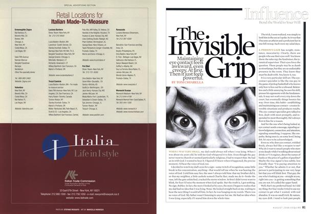 The Invisible Grip