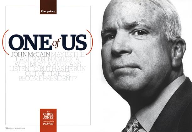 Article Preview: One of Us, August 2006 | Esquire