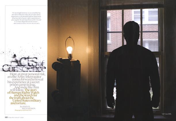 Article Preview: Acts of Conscience, August 2006 | Esquire