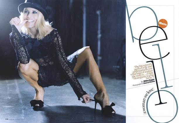 Article Preview: Maria Bello, August 2006 | Esquire