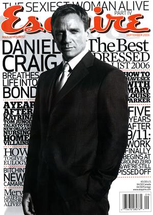 Cover for the September 2006 issue