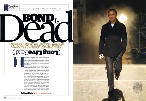 Article Preview: Bond Is Dead, September 2006 | Esquire