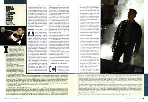 Article Preview: Three Things You Already Know About James Bond, September 2006 | Esquire