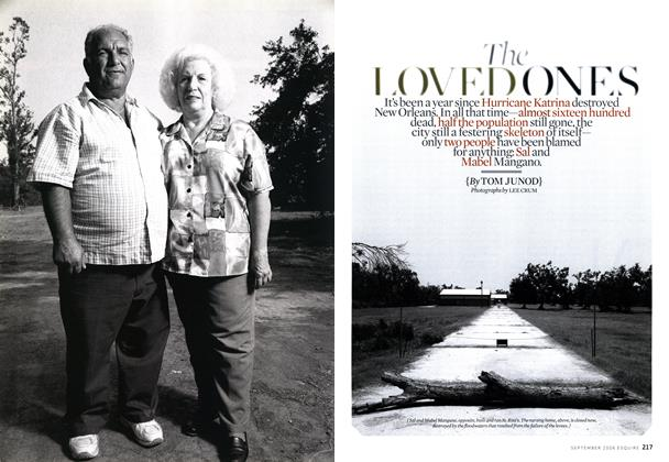 Article Preview: The Loved Ones, September 2006 | Esquire