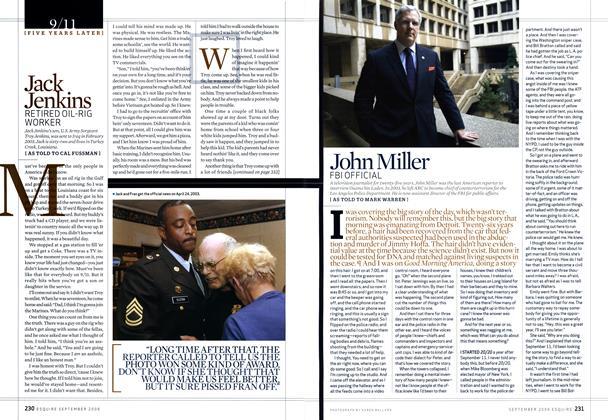 Article Preview: John Miller, SEPTEMBER 2006 2006   Esquire
