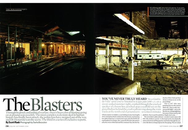 Article Preview: The Blasters, September 2006 | Esquire