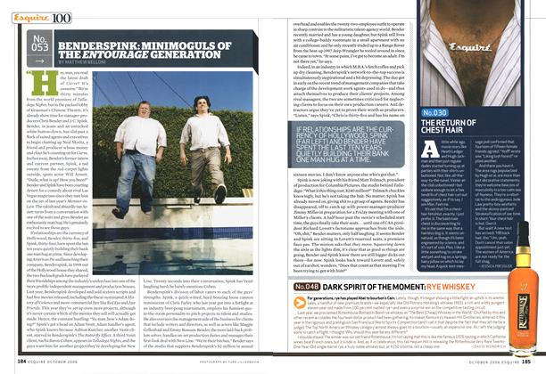 Article Preview: Benderspink: Minimoguls of the Entourage Generation, OCTOBER 2006 2006 | Esquire