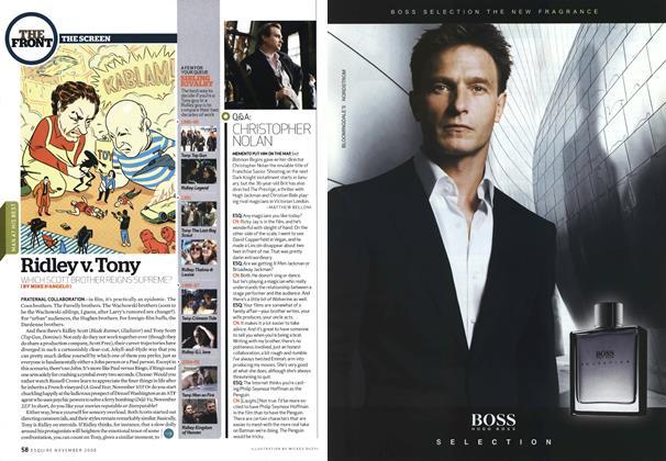 Article Preview: Q&a: Christopher Nolan, NOVEMBER 2006 2006 | Esquire