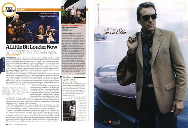 Article Preview: A Little Bit Louder Now, NOVEMBER 2006 2006 | Esquire