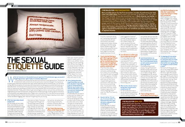 The Sexual Etiquette Guide