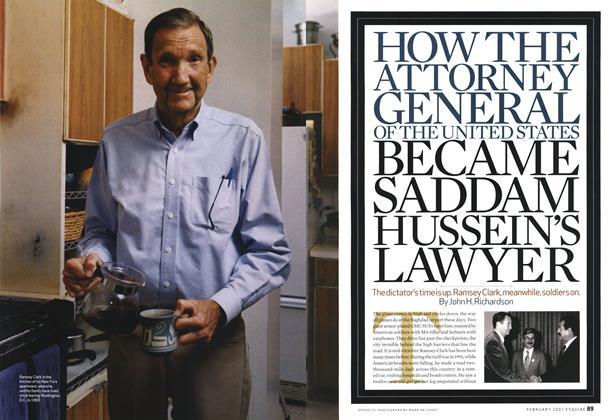 How the Attorney General of the United States Became Saddam Hussein's Lawyer