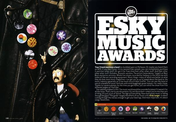 The 2007 Esky Music Awards