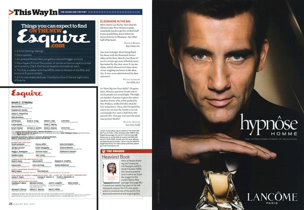 Article Preview: Heaviest Book, MAY 2007 2007 | Esquire