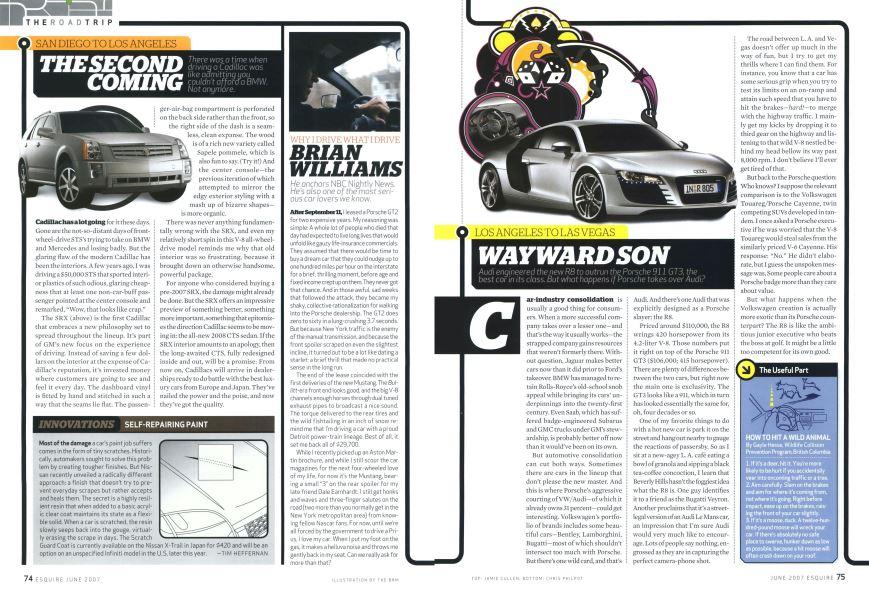 Wayward Son | Esquire | JUNE 2007