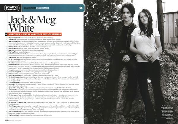 Jack & Meg White