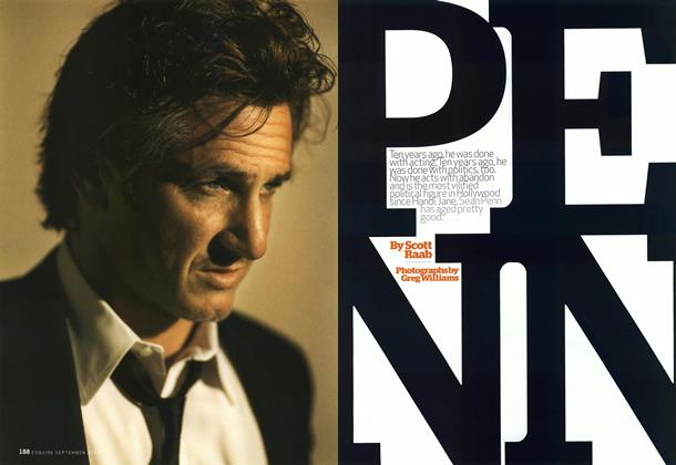 Article Preview: Sean Penn Is a Great American, September 2007 | Esquire