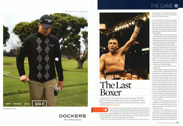 Article Preview: The Last Boxer, September 2007 | Esquire