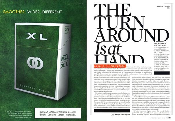 Article Preview: The Turnaround Is at Hand, SEPTEMBER 2007 2007   Esquire