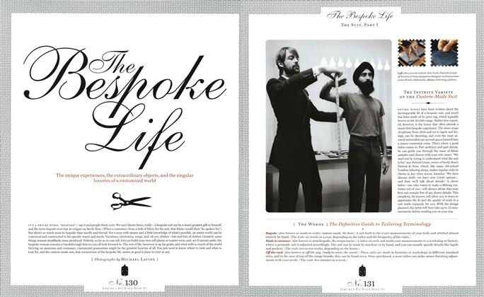 The Bespoke Life