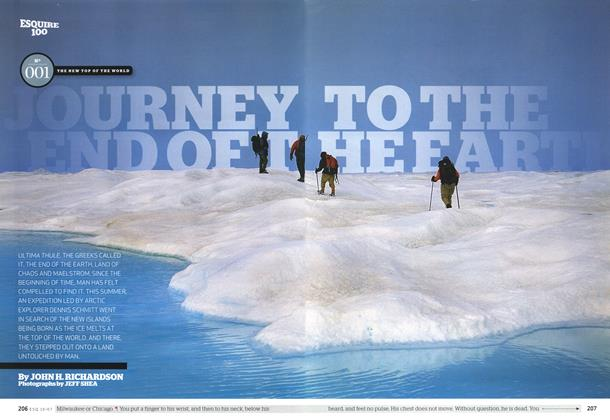 Journey to the End of the Earth