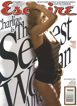 Cover for the November 2007 issue