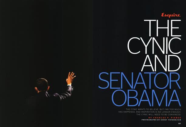 The Cynic and Senator Obama